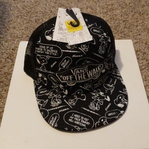 Vans Accessories - NWT, Peanuts for Vans Hat